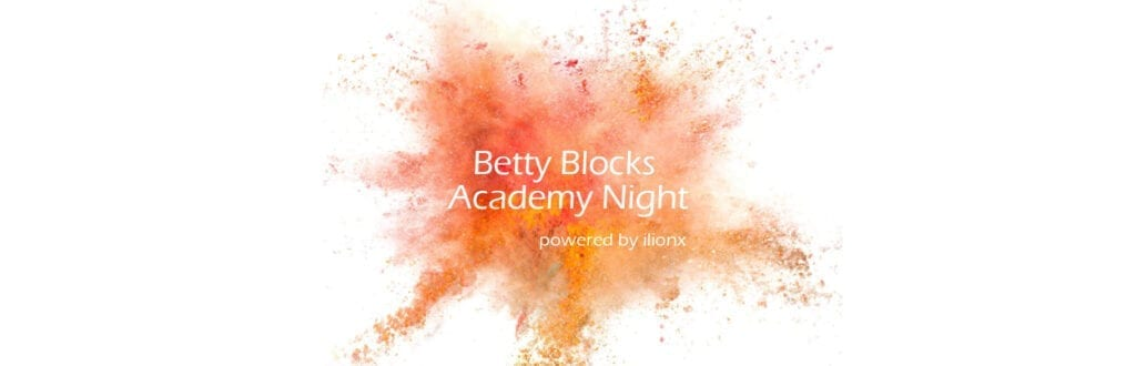 Betty Blocks Academy Night 2019