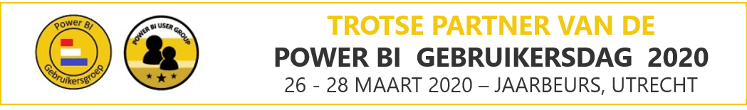 Power BI Gebruikersdag 2020