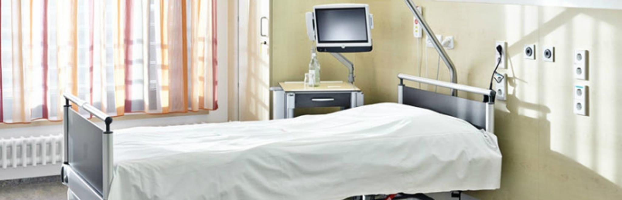 capaciteit van ziekenhuisbedden