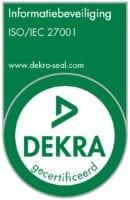 ISO 27001-certificaat voor informatiebeveiliging