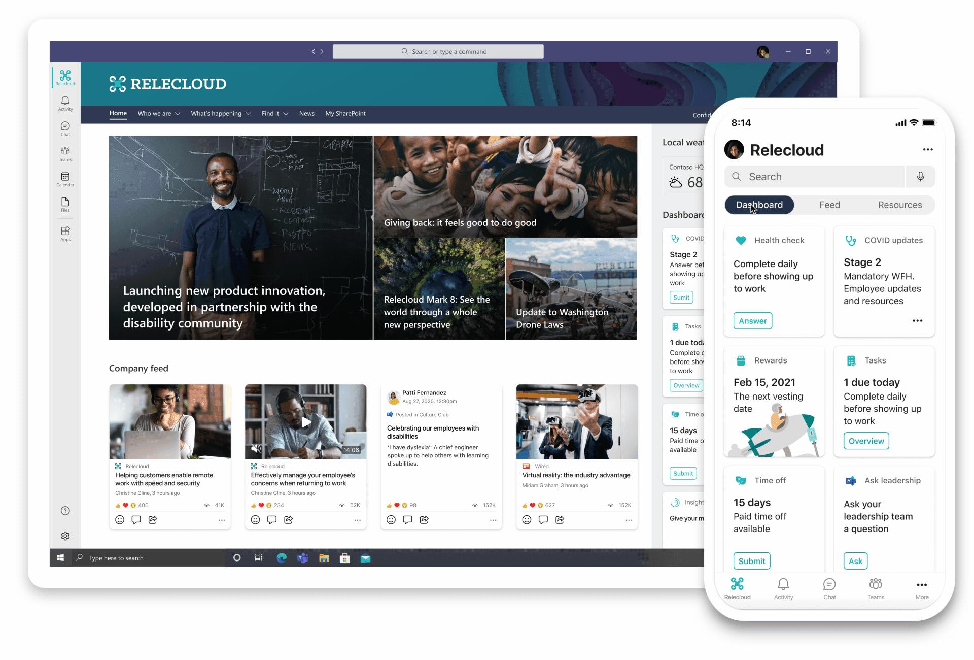 Microsoft Viva nieuws