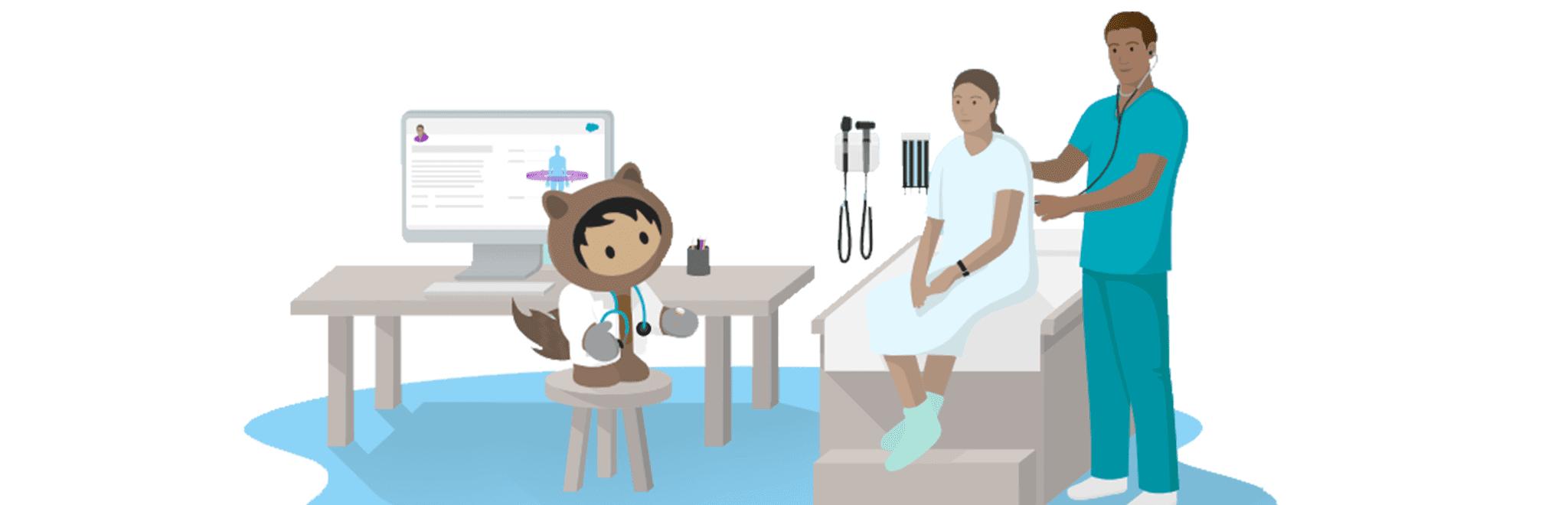Salesforce healthcare